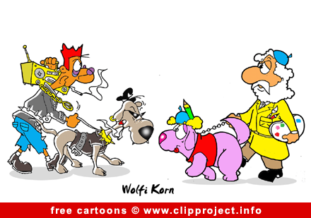 dogs cartoon picture free free animals cartoons