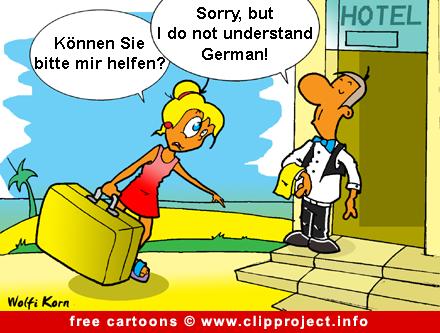 Holiday cartoon free for Bureau humour