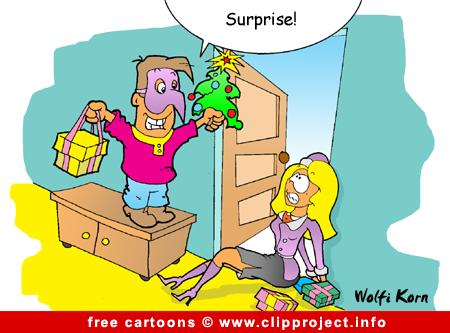 Christmas cartoon image for free