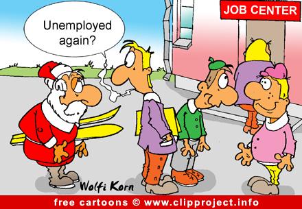 Santa Claus cartoon gratis