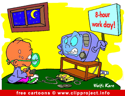 Gamer cartoon gratis