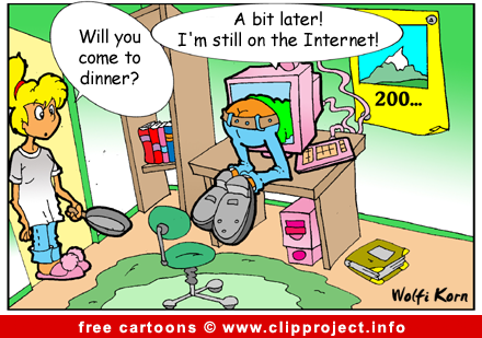 Internet cartoon for free - Computer cartoons free