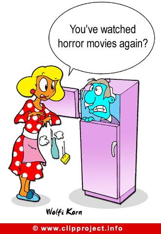 Cartoon Horror Films