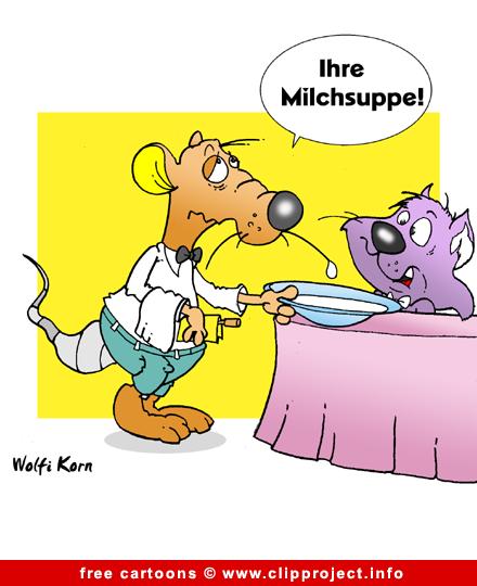 Restaurant Cartoon for free
