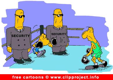 Free Sport Cartoon Boxing