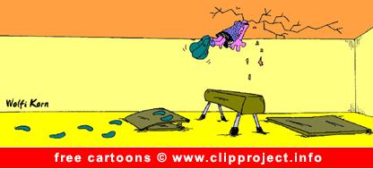 Free Sport Cartoon Jump
