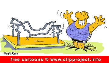 Gratis Cartoon Gymnastics - Free Sport Cartoons for Olympic Games