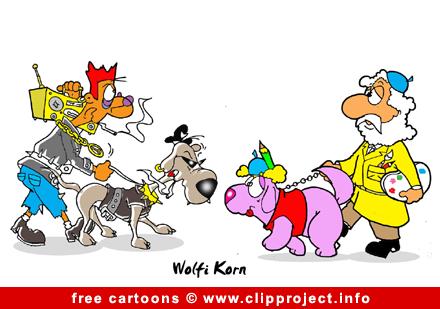 Police Dog Cartoon Free Animals Cartoons
