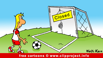 football cartoon for free