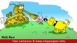 Tank and dog cartoon free
