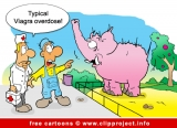 Zoo Cartoon - Viagra Overdose