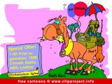Free Car Cartoon - Horse Special offer