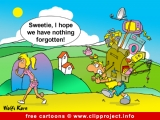 Travel cartoon gratis