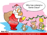Christmas Cartoons and New Year Jokes