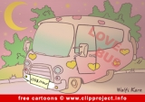 Love Bus Cartoon free