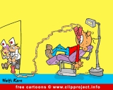 Dentist Cartoon for free