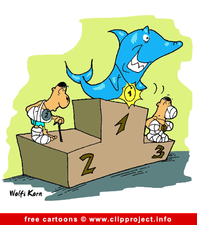 Shark cartoon - Free animals cartoons