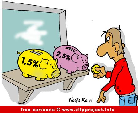 Piggy bank cartoon free