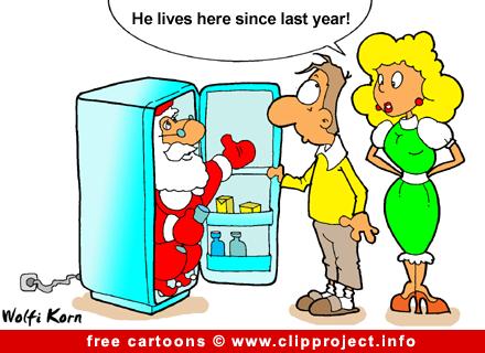 Santa Cartoon free