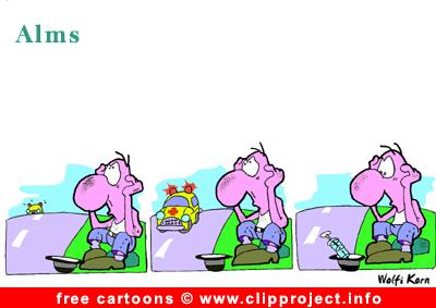 Alms cartoon free