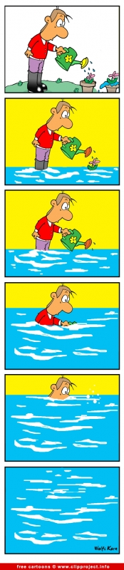 Water cartoon free