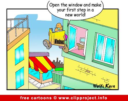 Windows cartoon free - Free Computer Cartoons