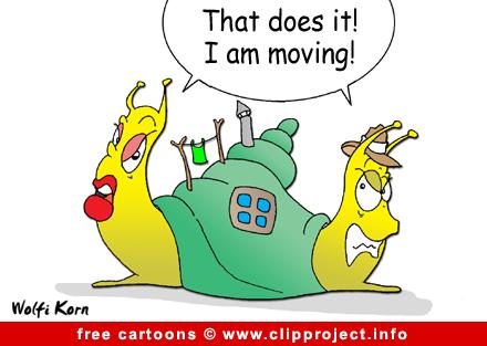 Free Cartoon Snails - Family Cartoons for free