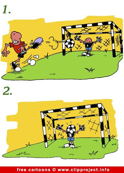 Football comic strip free
