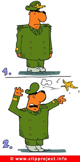Bird Cartoon - Army Cartoons free