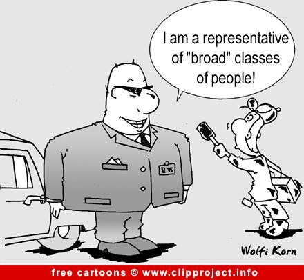 Politician Cartoon free