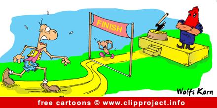 AAA Sport Cartoon Finish