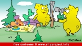 Hunt cartoon image for free - Free animals cartoons