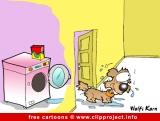 Washing machine cartoon image free - Free animals cartoons