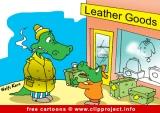 Crocodiles in shop cartoon for free - Animals cartoons