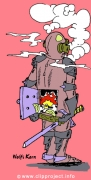 Knight-chimney cartoon free