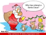 Christmas Cartoons and New Year Jokes