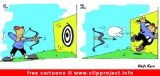 Sport comic archery for free