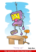 Computer crash cartoon for free