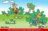 Free cartoon soccer