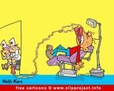 Dentist Cartoon for free