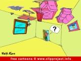 Free Party Cartoon - Hangover