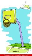Basketball Cartoon free - Sport Cartooons for Olympic Games