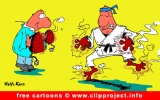Karate Cartoon for free